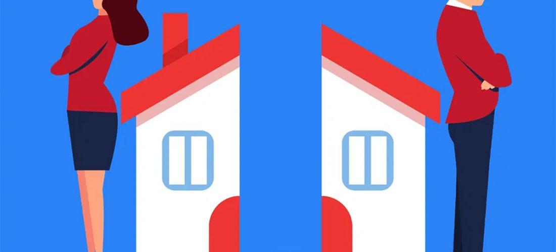 Comment régler le problème de la maison lors d'une séparation