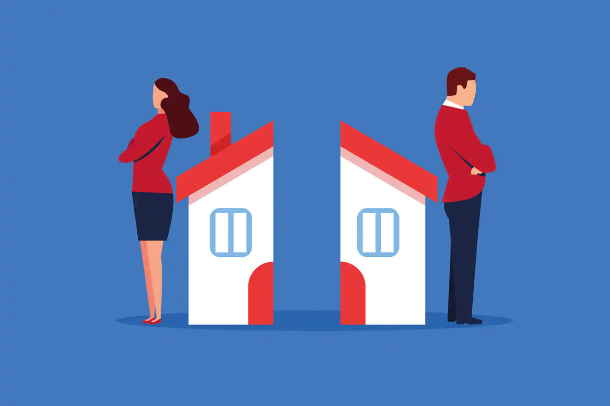 Les options pour garder la maison en cas de séparation